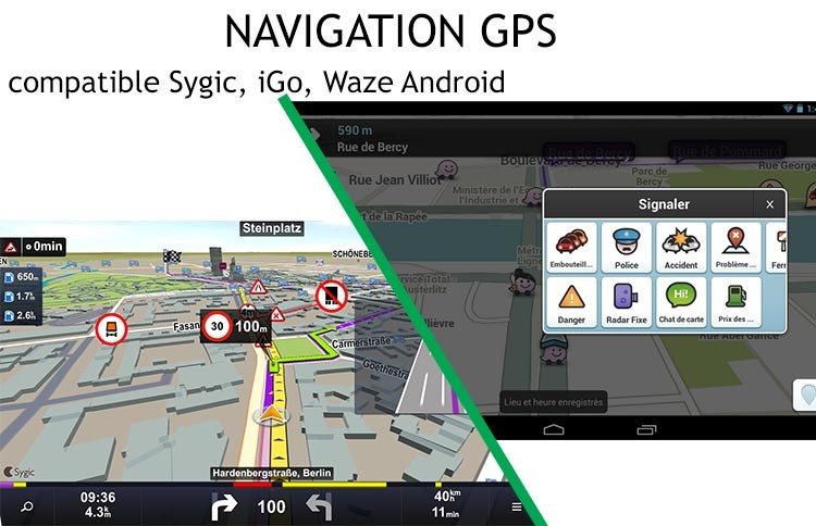 Navigation GPS Android