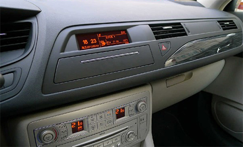 gps citroen c5 autoradio cran tactile 7 multim dia c5 hightech privee. Black Bedroom Furniture Sets. Home Design Ideas