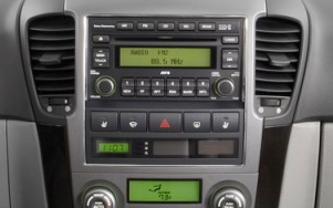 autoradio gps dvd bluetooth tactile kia sorento de 2006 2009. Black Bedroom Furniture Sets. Home Design Ideas