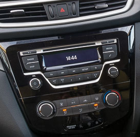 poste nissan qashqai x trail autoradio gps dvd usb bluetooth autoradios. Black Bedroom Furniture Sets. Home Design Ideas